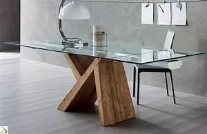 Tavolo di design in vetro Venezia Arredo Design Online
