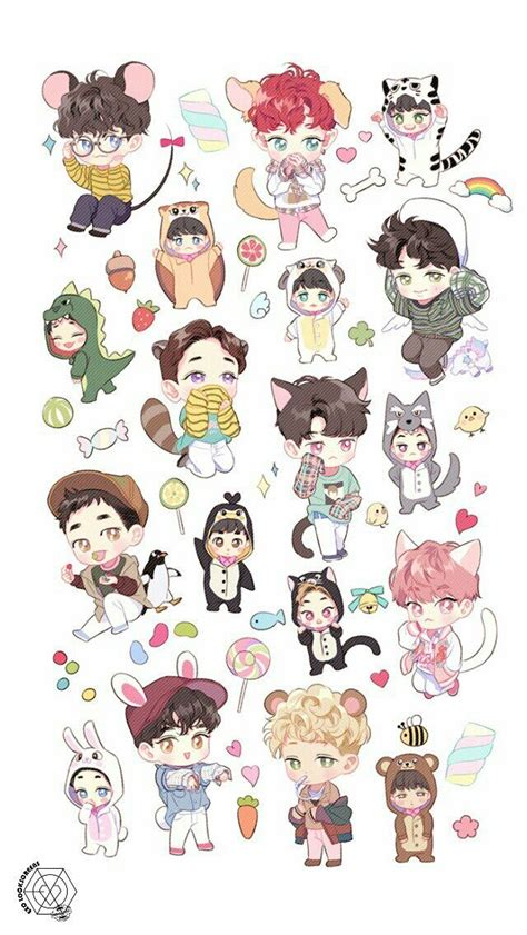 Exo Anime Wallpaper - exo wallpaper lockscreen background