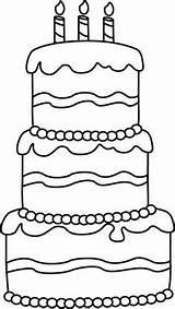 Cake Birthday Kleurplaat Taart Printable Coloring Jarig Verjaardag Thema Tekenen Clip Zijn Pasta Happy Kleurplaten Google Colorare Clipart Okul Templates sketch template