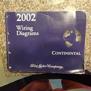 Find Manual Lincoln Continental 2002 Wiring Diagrams