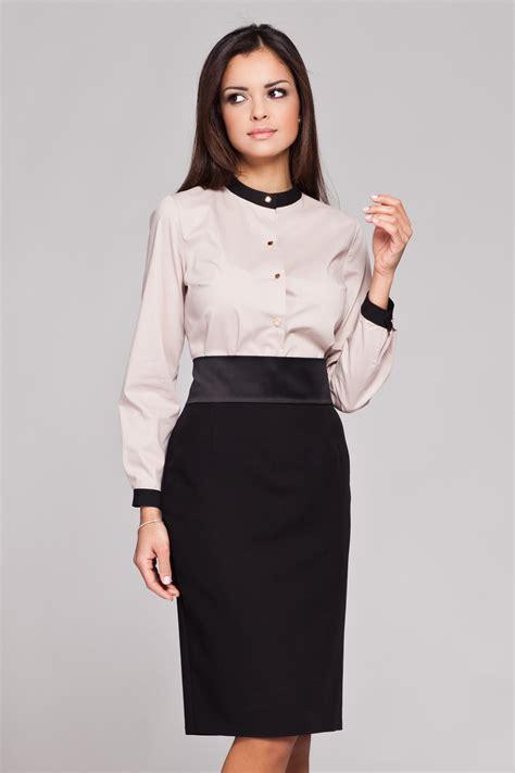 the blouse beige high neck button blouse