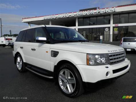 2006 Chawton White Land Rover Range Rover Sport