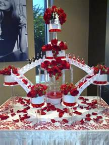 Elegant Quinceanera Decorations by Beautiful Wedding Cakes With Fountains Ipunya