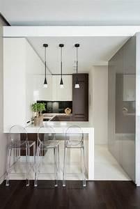 Esszimmerstühle Modernes Design : kleine k che einrichten 44 praktische ideen f r individualisierung des kleines raumes k che ~ Eleganceandgraceweddings.com Haus und Dekorationen