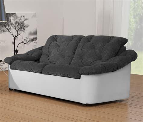 canapé 3 places tissu gris canape blanc 2 places 28 images canap 233 convertible