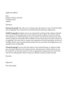 Writing A Winning Cover Letter by Writing A Cover Letter Tips For Writing