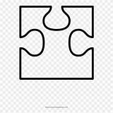 Puzzle Piece Corner Coloring Clipart Transparent Pikpng Complaint Copyright sketch template