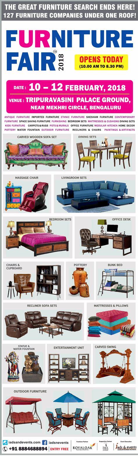 furniture fair  sale bangalore saleraja