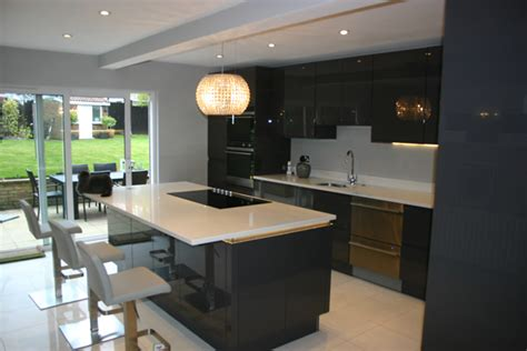 Small Master Bedroom Ideas - kitchen case study wallington surrey blok designs ltd