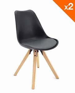 Coussin Pour Chaise Scandinave : chaise scandinave avec coussin lot de 2 98 9 clea ~ Dailycaller-alerts.com Idées de Décoration
