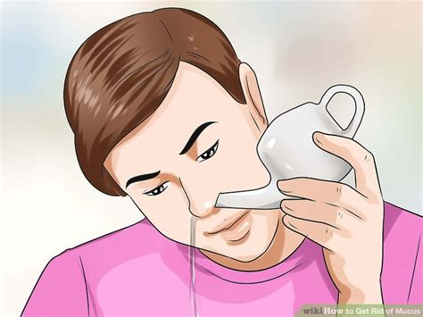 doctor approved advice how to get rid of mucus wikihow