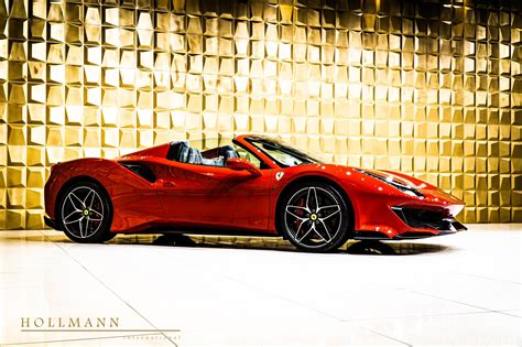 In 1997, the spider was offered with the f1 transmission available as an option. At €545,200, This 50-Mile Ferrari 488 Pista Spider Costs ...