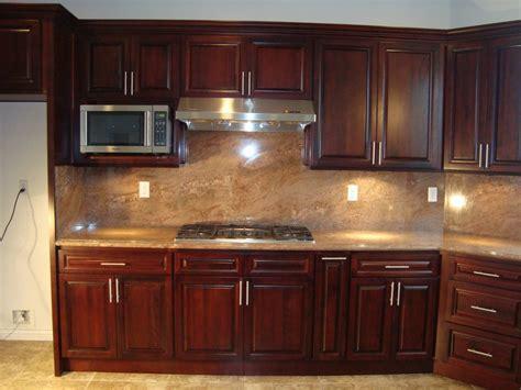 Backsplash Kitchen Colors With Dark Cabinets