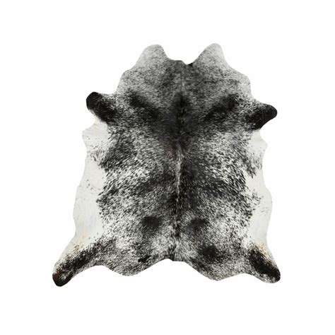 black and white cowhide southwest rugs large black and white salt pepper