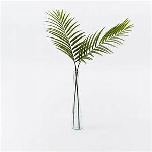 Faux Palm Leaf Branch west elm