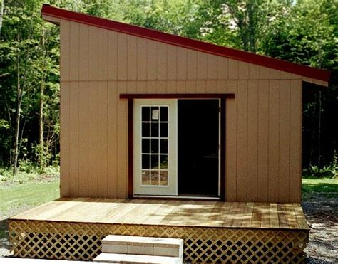 Small Shed Roofed Cabin