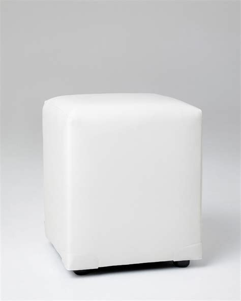 white cube ottoman cube ottoman hire lounge hire chair hire