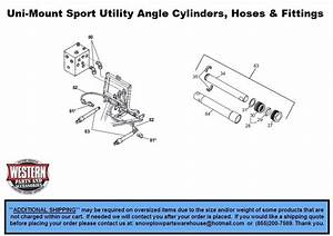 Uni-mount Snowplows - Western Snowplow Parts With Diagrams