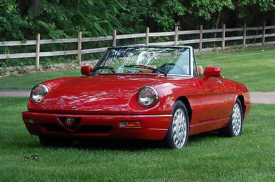 1994 Alfa Romeo Spider For Sale by 1994 Alfa Romeo Spider Cars For Sale