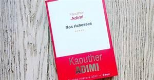 La Grande Librairie 9 Novembre 2017 : lundi librairie nos richesses kaouther adimi ~ Dailycaller-alerts.com Idées de Décoration