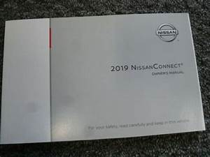 2019 Nissan Rogue Navigation System Owner Operator User