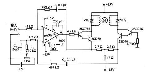 servo motor circuit automation circuits next gr dc
