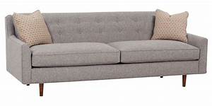 mid century fabric sofa group with inset legs club furniture With mid century style sectional sofa