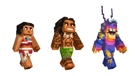Moana Skins Are Now Surfing Into Minecraft