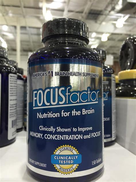 focus factor nutrition supplement   brain harvey