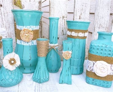 ... Shabby Chic Vases With