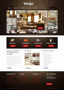 Furniture Website Template 29545