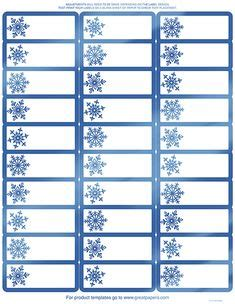 avery address labels  template   christmas