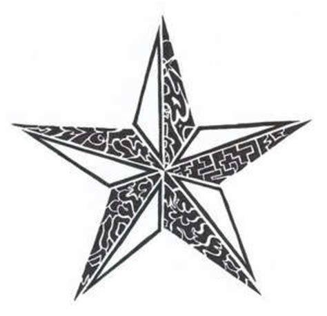 Tribal Star Tattoo  Free Images At Clkercom Vector