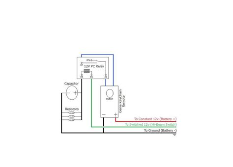Genie Garage Door Opener Wiring Diagram Chimetr
