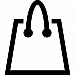 Sac À Main Transparent : shopping bag outline free commerce icons ~ Melissatoandfro.com Idées de Décoration