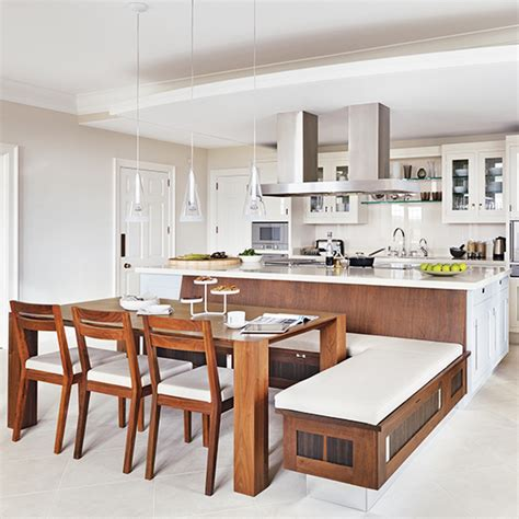 kitchen island designs with seating kitchen table u shaped with island designs built in bench