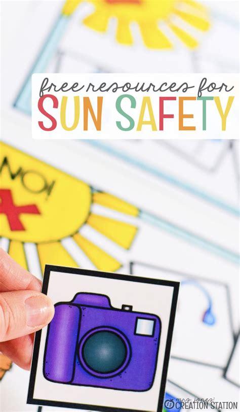 Sun Safety Activities - Mrs. Jones Creation Station in ...