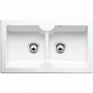 Evier Cuisine Ceramique Blanc : evier c ramique encastrer blancoidessa 9 s blanc cristal ~ Premium-room.com Idées de Décoration
