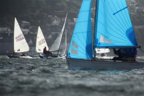 Oliver Dinghy Boat by The Senior Dinghy Fleet Race At Dartmouth Week