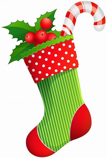 Stocking Transparent Clipart Clip Stockings Holiday Holidays