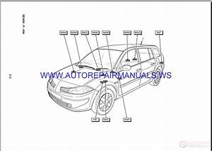 Renault Megane Ii X84 Nt8342 Disk Wiring Diagrams Manual 09