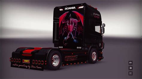 scania  sarantos  truck euro truck simulator  mods