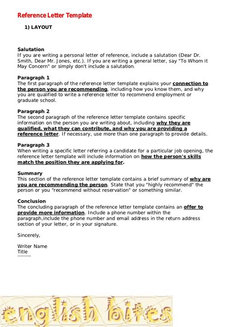 write  character reference letter  court uk