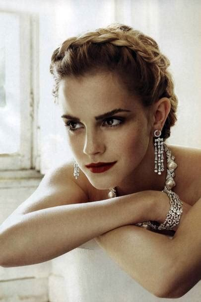 Emma Watson Never Thought She Would Famous British Vogue