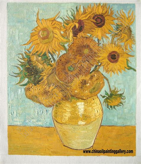 The Gallery For Van Gogh Paintings Sunflowers Original