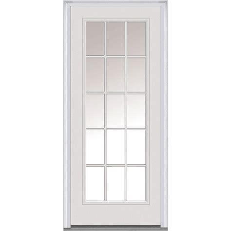 MMI Door 34 in. x 80 in. Clear Right Hand Full Lite