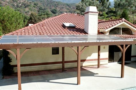 solar patio cover solar patio cover mediterranean patio los angeles by true building inc