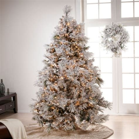 white tree with gold decorations chic beautiful
