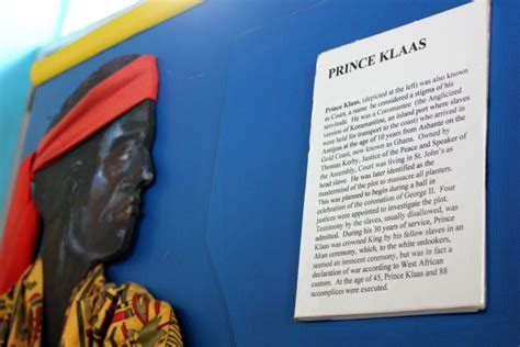 antigua klaas prince slave african reasons visit planned horrifying ghana execution state young disputed conspiracy 1736 successful mummytravels