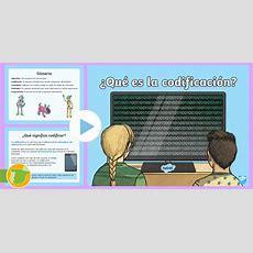 * New * Presentación ¿qué Es La Codificación? Escritura